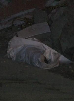 Eyüp'te boğazı kesilmiş erkek cesedi bulundu