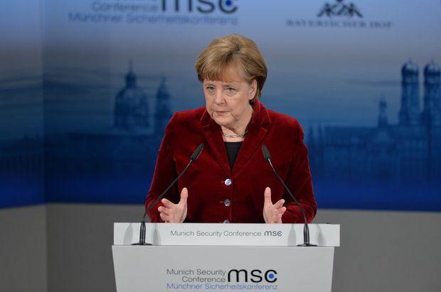 Angela Merkel, güvenlik konferansı ile ilgili görsel sonucu