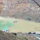 Baraj Gölü'ne sürüklenen işçi kayboldu