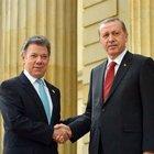 Erdoğan 2. twit'inde Santos'a teşekkür etti