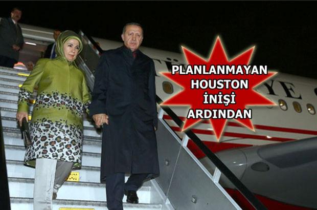 Erdoğan yurda döndü!