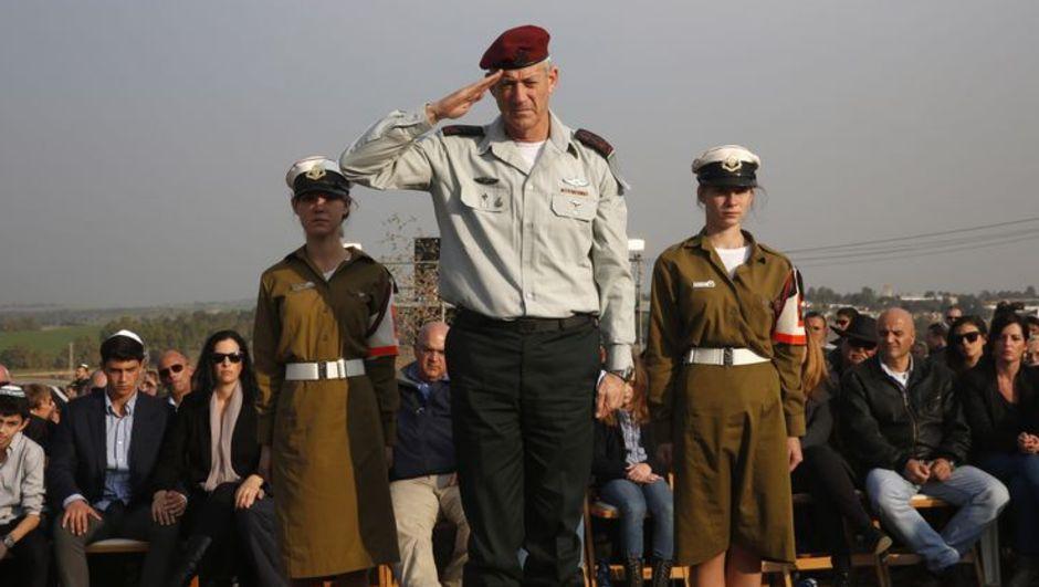 İsrail Genelkurmay Başkanı Benny Grantz