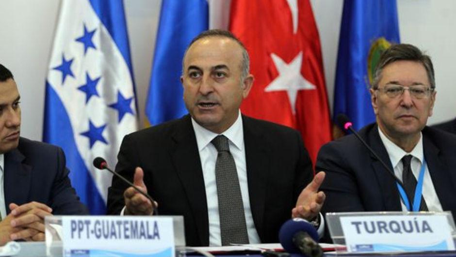 Dışişleri Bakanı Mevlüt Çavuşoğlu Guatemala