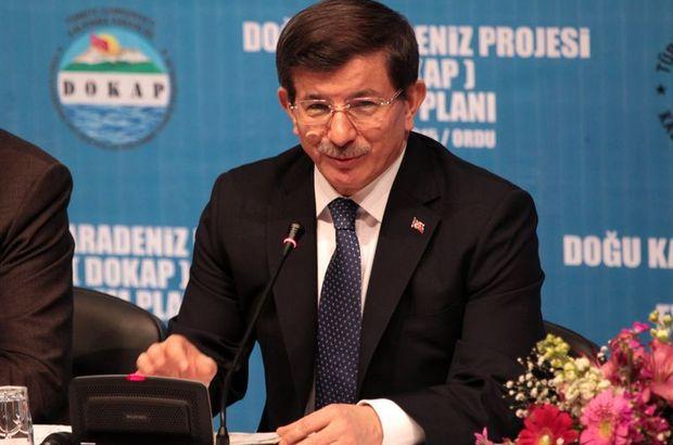 Ordu Başbakan Davutoğlu
