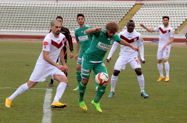 Elazığspor-Şanlıurfaspor maçından bir kare