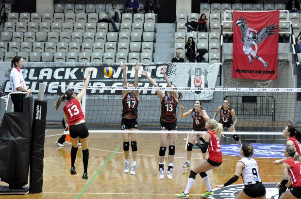 Beşiktaş-Eczacıbaşı VitrA maçından bir kare