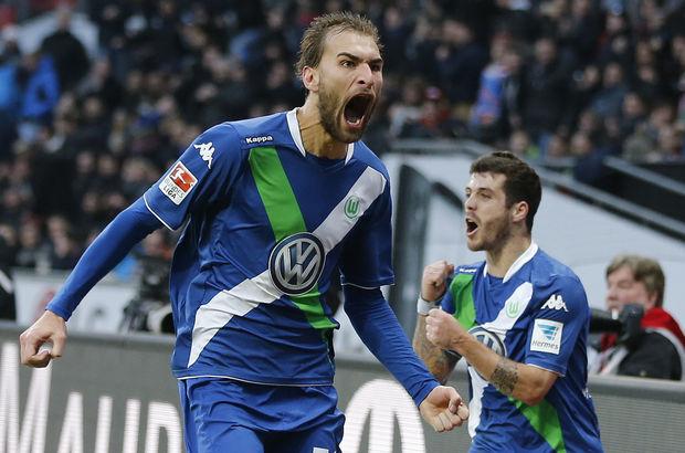 Wolsfburg, deplasmanda Bayer Leverkusen'i 5-4 mağlup etti