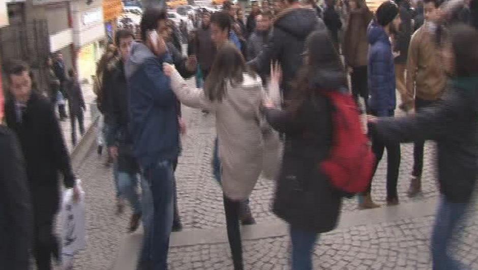 Ankara, Güvenpark, Özgecan Aslan protestosu