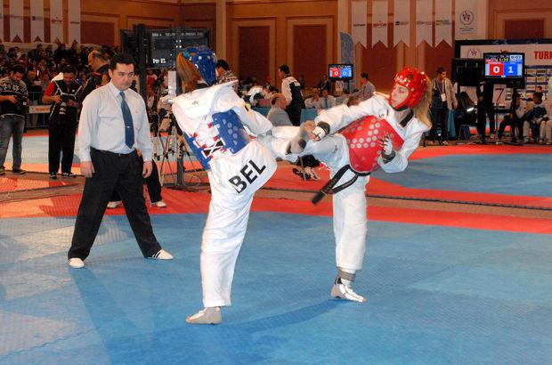2015 Uluslararası Türkiye Açık Tekvando Turnuvası'nın ikinci günü müsabakaları sona erdi