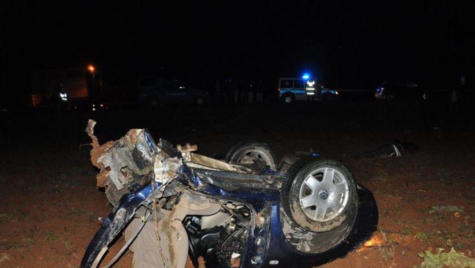 Gaziantep, trafik kazası, TIR ile otomobil çarpıştı,