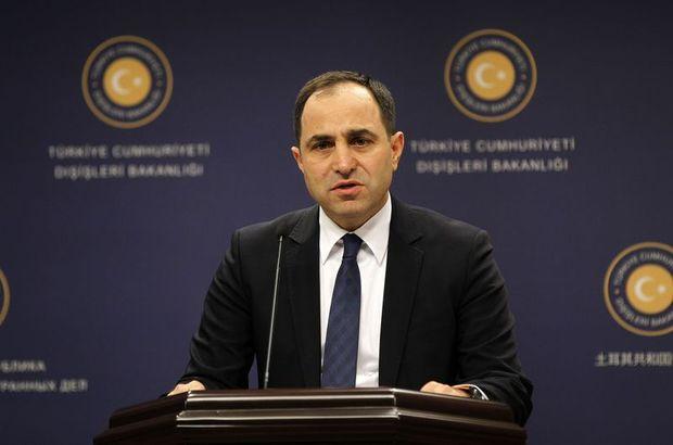 Dışişleri Bakanlığı Sözcüsü Tanju Bilgiç, AP'nin Kıbrıs'taki toplu mezarlar konulu kararı
