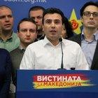 """Makedonya Sosyal Demokratlar Birliği Genel Başkanı Zoran Zaev,  """"yasa dışı dinleme"""" iddialarına yönelik belgeleri kamuoyuyla paylaşmaya devam ediyor"""