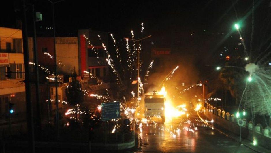 Şırnak, Siirt, Batman ve Diyarbakır'da polis müdahalesi