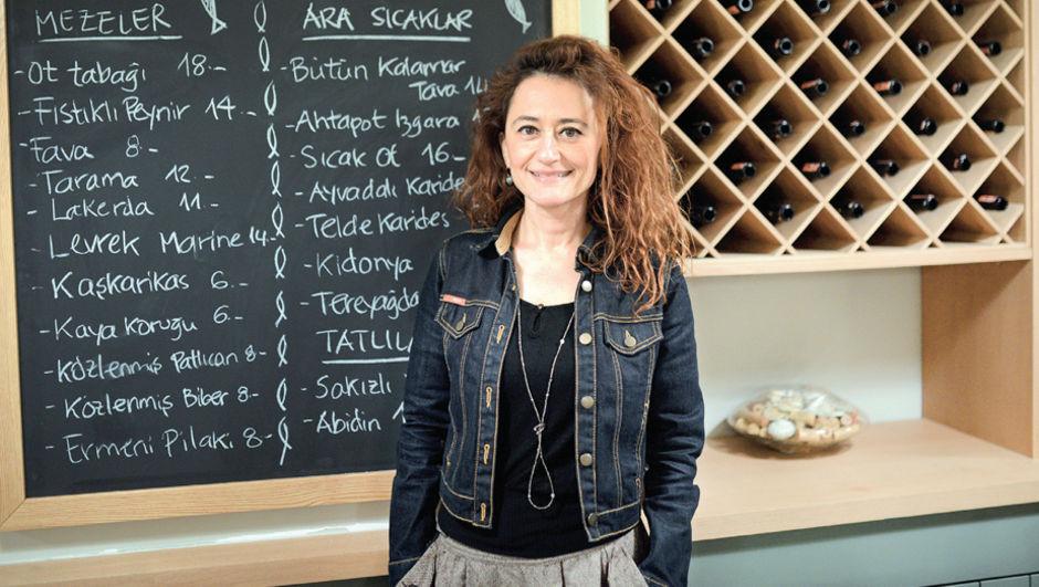 İstanbul'daki ilk meze restoranın yaratıcısı Sıdıka Karaman, meze restoranı