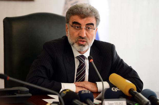 Enerji ve Tabii Kaynaklar Bakanı Taner Yıldız,Doğalgaz