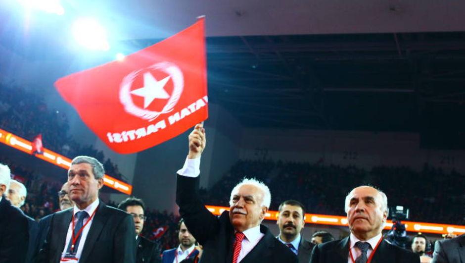 İşçi Partisi'nin adı değişti Vatan Partisi oldu