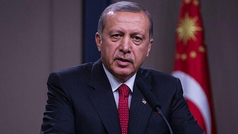 Cumhurbaşkanı Erdoğan gurbetçi gençlerle sarayda görüştü