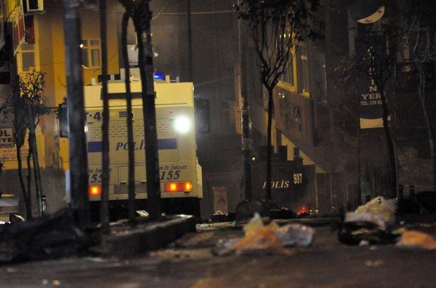 Okmeydanı'nda gerginlik! İstanbul, Okmeydanı , Abdullah Öcalan, TOMA