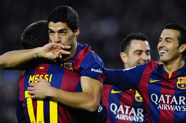 Luis Suarez attığı golle maça damga vurdu