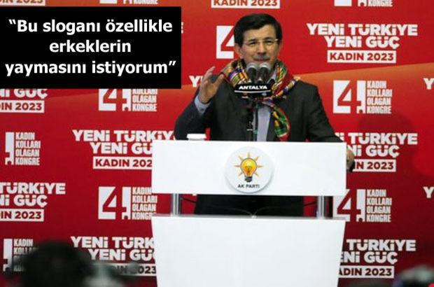 başbakan ahmet davutoğlu, Antalya, Ak Parti İl Kadın Kolları Kongresi, Özgecan Aslan, gençlik merkezi