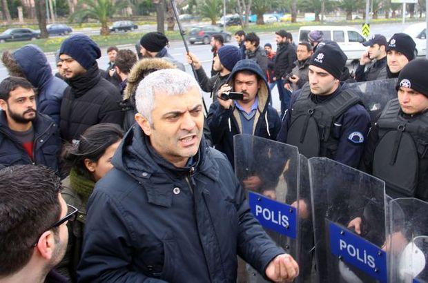 Emniyet Müdürlüğü önünde gözaltına alınan 23 kişi serbest