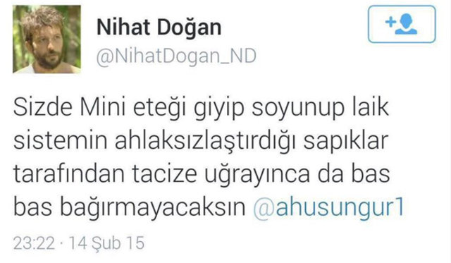 TV8'de yayınlanacak Survivor'ın yarışmacıları arasında bulunan Doğan'a sosyal medyada tepki yağdı