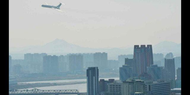 Kuzey Kore lideri Kim Jong Un'un özel jetinden kareler yayınlandı