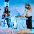 """Norveç'te düzenlenen """"Ice Music Festival""""de her şey buzdan"""