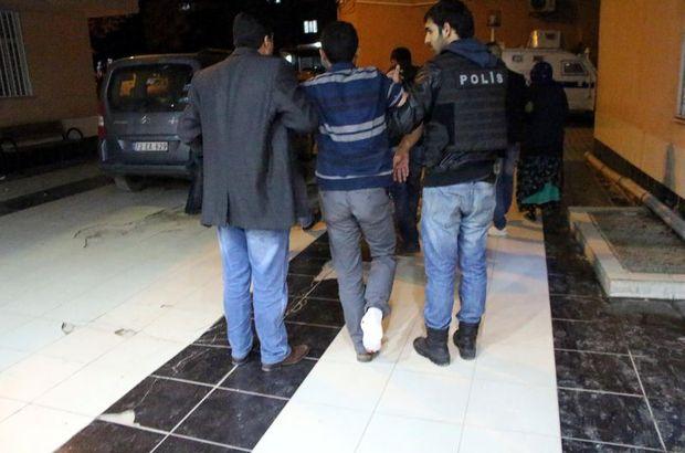 Mardin'deki Öcalan eyleminde komiser vuruldu, Mardin, Abdullah Öcalan
