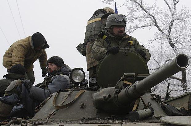 Ukrayna'da ateşkes 60 kez ihlal oldu Ukrayna, Rusya, Debaltsevo