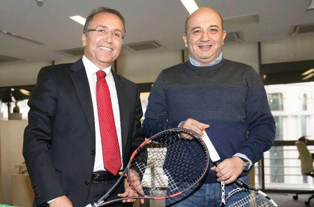 Cengiz Durmuş, tenisi tüm Türkiye'ye yaymak için çalıştıklarını söyledi