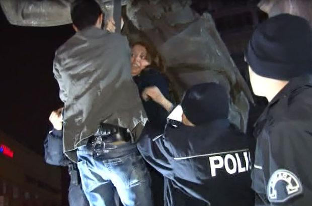 Özgecan Aslan Ankara protesto