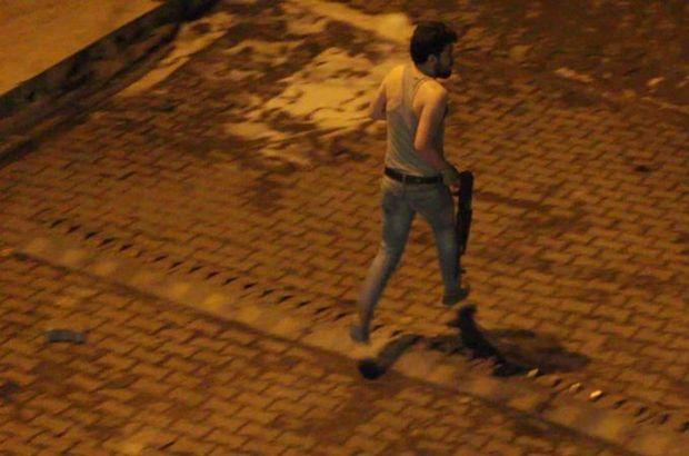 Şırnak'ın Silopi İlçesi'nde polis atletle PKK'lı kovaladı