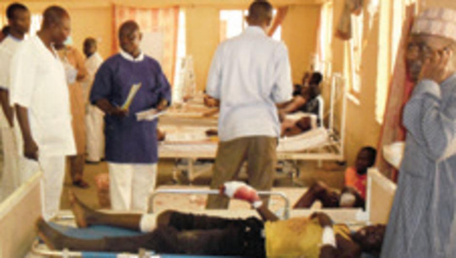 Nijerya'da otobüs durağında kadın intihar bombacısı saldırı düzenledi