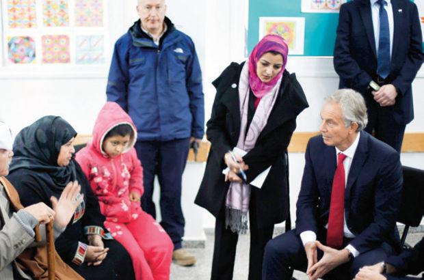 Tony Blair, Ortadoğu turu kapsamında Gazze'yi ziyaret etti