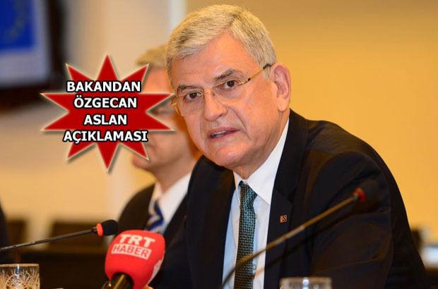 Özgecan Aslan Avrupa Birliği (AB) Bakanı ve Başmüzakereci Volkan Bozkır
