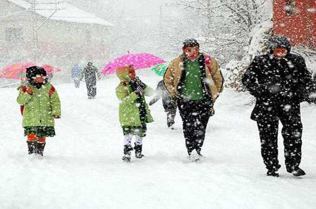 Samsun'da okullara 2 günlük kar tatili!