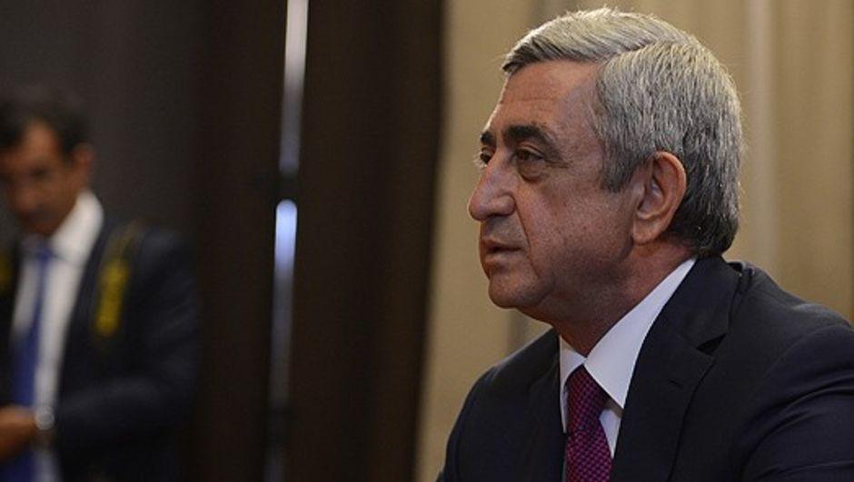 Sarkisyan, Türkiye protokollerini geri çekti Ermenistan, Serj Sarkisyan, Türkiye