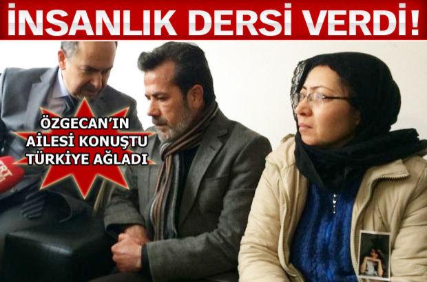 Özgecan Aslan'ın babası Mehmet Aslan konuştu