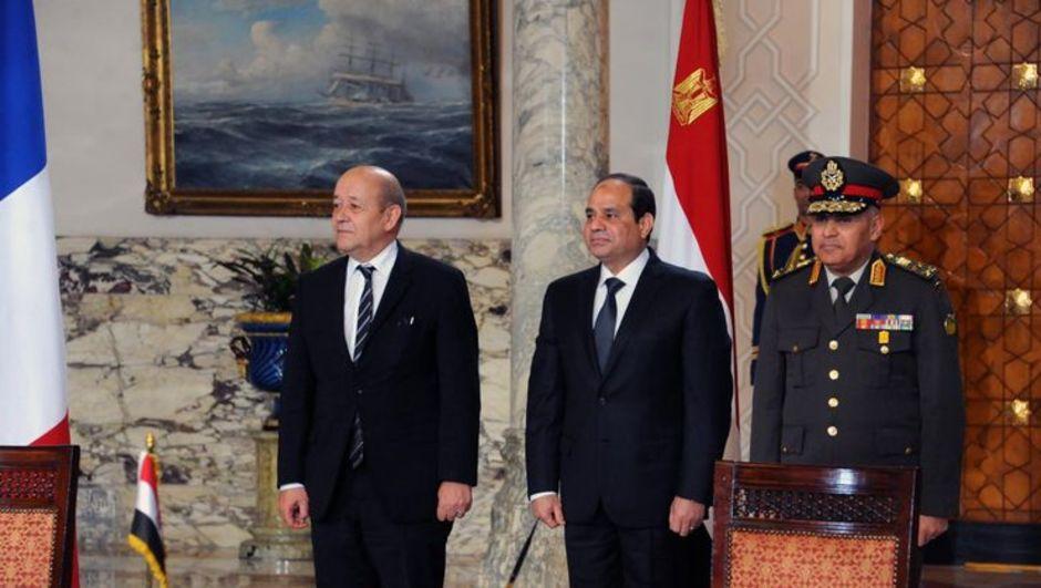 Mısır Fransa'dan uçak satın alacak Mısır, Fransa, sisi, MENA
