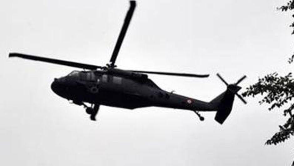 Suudi Arabistan helikopter kazası