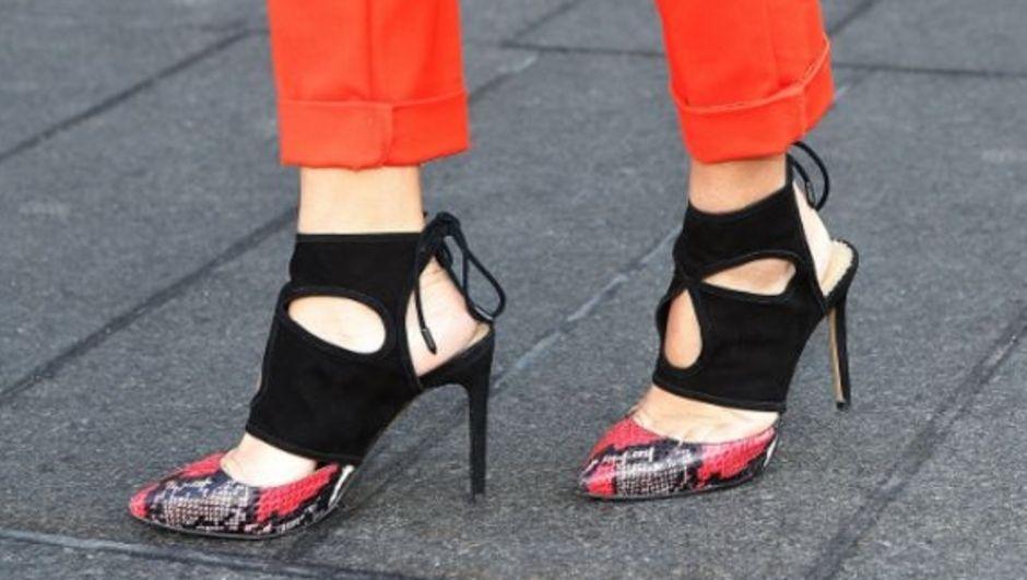 Уличная мода обуви фото