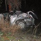 Şarampole yuvarlanan araç sonucunda 2 kişi ölürken 3 kişi de yaralandı