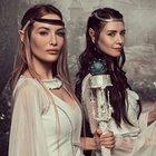 Nefise Karatay ve Gamze Özçelik Elf kızı oldu