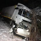 Zonguldak'ta buzlu yolda zincirleme kaza: 5 kişi yaralandı