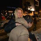 Serdar Ortaç, eşi Chloe Loughnan 'Grinin Elli Tonu'nu izlediler