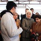 Emine Erdoğan, Malatya'da Hippoterapi Merkezi'ni ziyaret etti