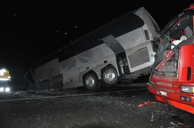Kütahya'da zincirleme trafik kazası