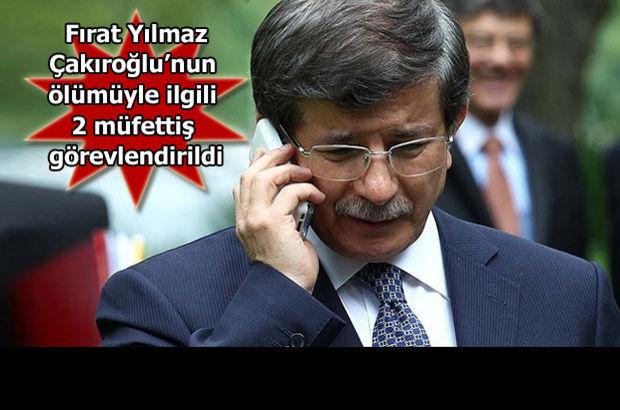 Başbakan Davutoğlu'ndan taziye telefonu