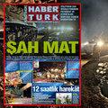 Habertürk Gazetesi'nden yıldırım baskı!